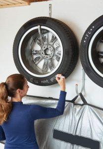 feutre marquage pneus